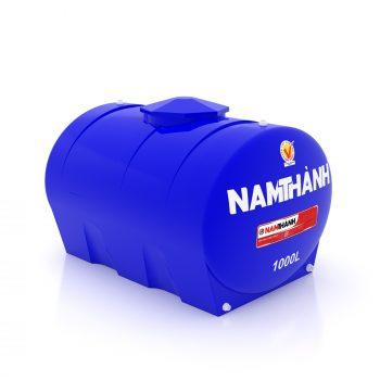 Bồn Nước Nhựa Tiêu Chuẩn 1000 Lít Ngang Nam Thành
